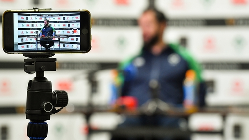 Andy Farrell and the Ireland camp face a period of upheaval