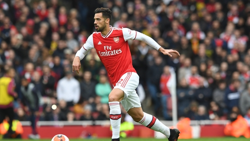 Pablo Mari has made two appearances for Arsenal