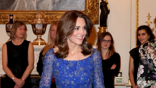 Looking regal in royal blue. Photo: Getty