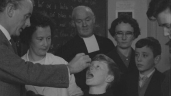 Oral polio vaccination, Sligo (1965)