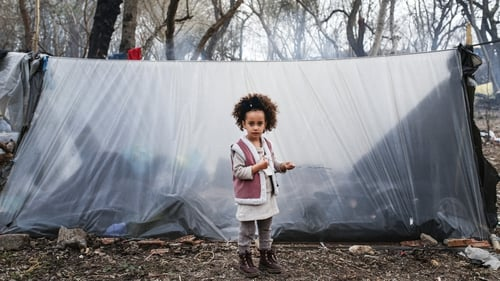 Germany said the focus is on helping children who are sick or unaccompanied