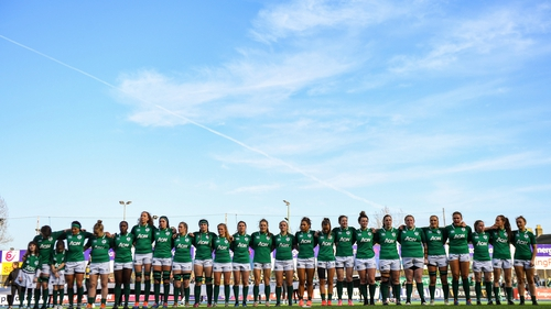 The Ireland Women's team were due to play in Lille on Sunday