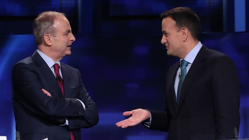 The Fianna Fáil and Fine Gael leaders are expected to present the document, once agreed, to the leaders of smaller parties