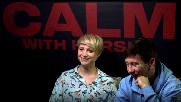 Niamh Algar and Barry Keoghan