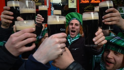 """Persistent claims about an alleged Irish susceptibility to alcoholism posed a threat to Ireland's international profile."" Photo: Artur Widak/NurPhoto via Getty Images"