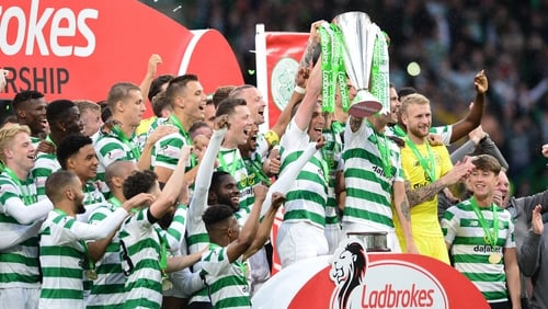 They might have to wait a while for the trophy lift, but Celtic are Champions again