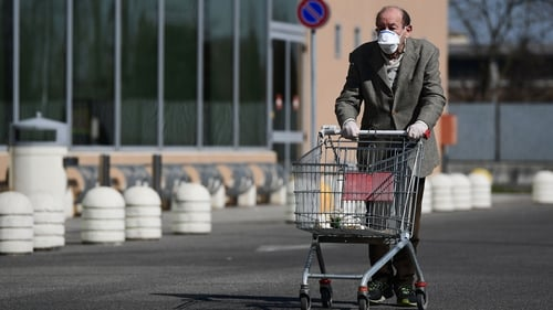 The Italian government has insisted there are no shortages of essential supplies