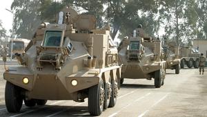 The attack happened at the Taji base north of Baghdad