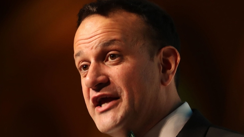 Leo Varadkar told his parliamentary party that there will be big increases in positive cases over coming days