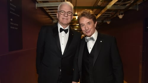 """Steve Martin: """"Marty and I have decided to postpone our Belfast show until happier times""""."""