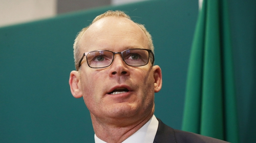 Simon Coveney also said the position on fishing has hardened on both sides