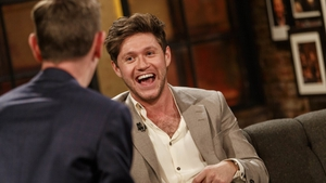 Niall on the Late Late on Friday night