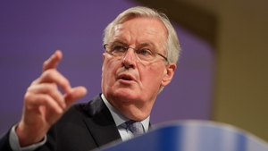 Michel Barnier said: 'We will publish the text after our exchanges & look forward to working with UK'