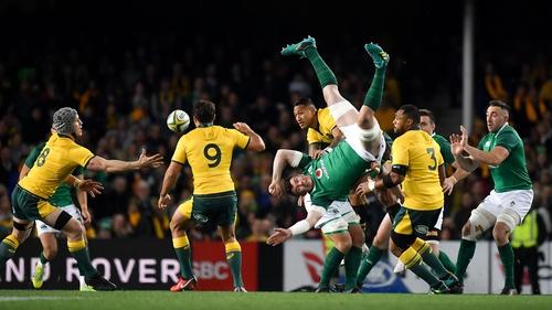 Ireland won a Test series in Australia two years ago