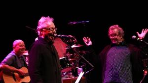 Singer-songwriter Paul Brady and folk musician Andy Irvine