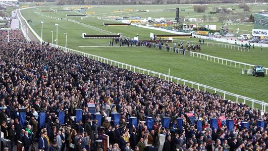 Irish racing fans return home from Cheltenham