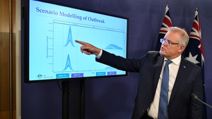 Scott Morrison said Australia would impose a 'universal precautionary self-isolation requirement on all international arrivals'