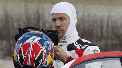 Sebastian Ogier won for the first time in his Toyota Yaris