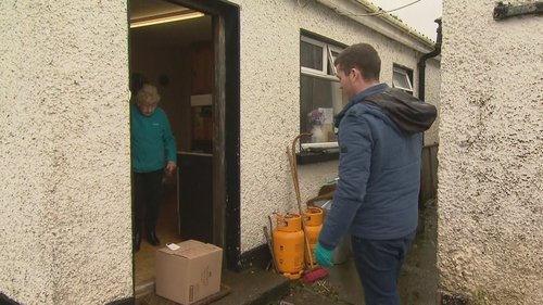 Dunderry GAA club in Meath is helping older people in the parish