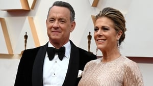Tom Hanks and Rita Wilson at last month's Oscars