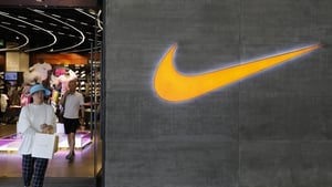 Nike's brick-and-mortar sales have fallen since the Covid-19 pandemic began, but online sales have soared 82% higher
