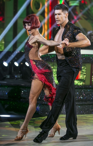 Ryan Andrews and Giulia Dotta scored 29 for their Samba