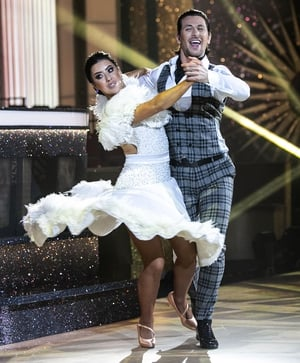 Lottie Ryan and Pasquale La Rocca scored the maximum 30 from the judges for their Quickstep - the first time they had received three tens