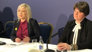 """First Minister Arlene Foster and Deputy First Minister Michelle O'Neill said the Executive is committed to """"a victim-centred"""" inquiry"""
