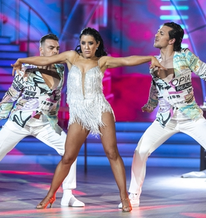 Lottie, Pasquale and their trio dance partner Ryan McShane also scored a maximum 30 for their Cha-Cha-Cha