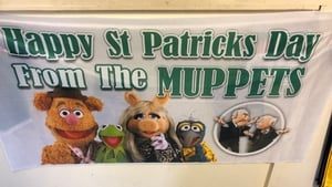 One of Prospect Design's St Patrick's Day creations on display in its Dublin office