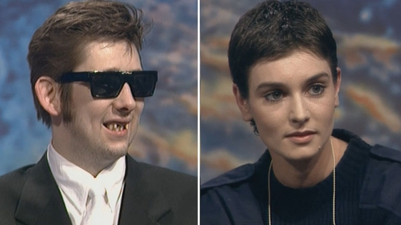 Shane MacGowan and Sinéad O'Connor