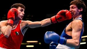 Aidan Walsh will join his sister Michaela at the Games