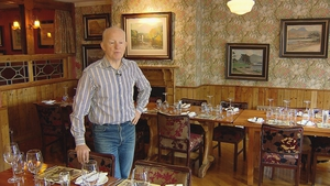 Johnny McGuire at Bricín restaurant in Killarney