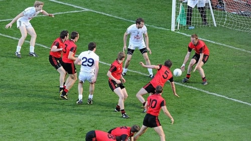Down and Kildare played a rollercoaster semi-final