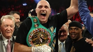 Tyson Fury has a contract to fight Deontay Wilder next