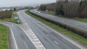 The incident occurred on the N25