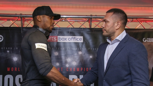 Joshua's heavyweight title defence could slip to July, says Hearn