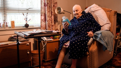 91-year-old Senga Benfell, said the Covid-19 pandemic reminded her of when she was younger