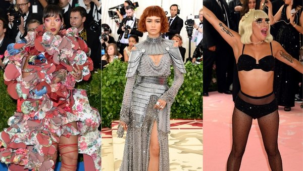 Unsurprisingly, Rihanna - the queen of dressing up - features on this list more than once.