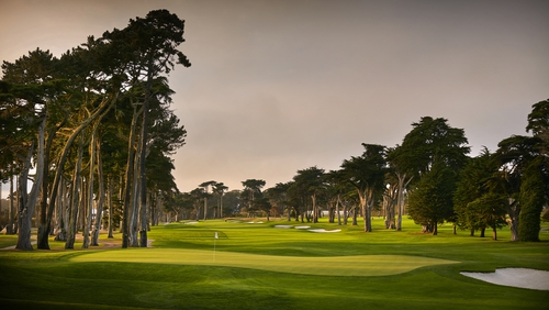 A view from the eighth hole of TPC Harding Park on October 2, 2018 in San Fransisco, California