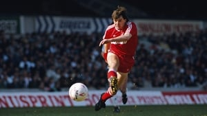 Ray Houghton in action for Liverpool in May 1989