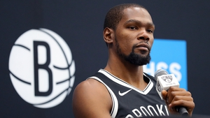 Kevin Durant is one of four Brooklyn Nets players to test positive for Covid-19