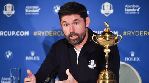 The three-time major winner is the current Team Europe captain