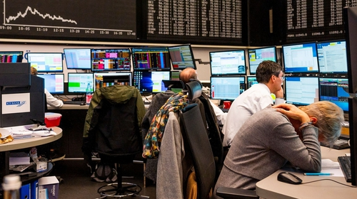 European shares shed their earlier gains today despite another dramatic round of monetary stimulus by the European Central Bank