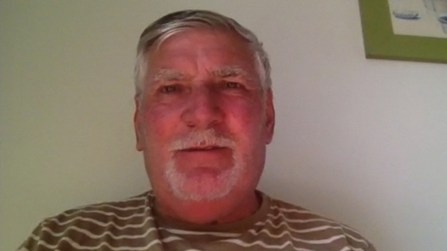 Des Glackin is one of a group of 14 Irish people stranded in Fuerteventura