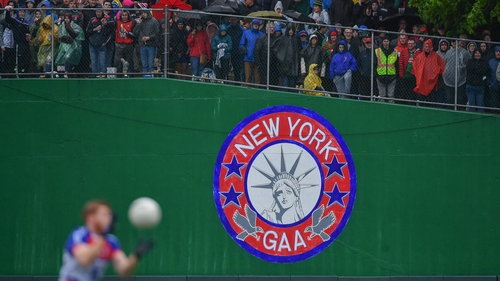 Supporters watch the action at Gaelic Park in New York