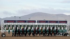 Racing took place behind closed doors at Dundalk Stadium last Friday