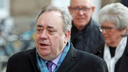Alex Salmond attending court