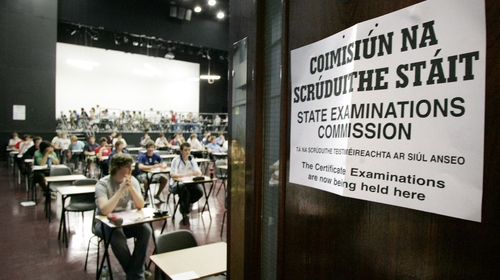 The department said the State Examinations Commission will send exam papers it has prepared to schools