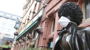 Phil Lynott says wear a mask